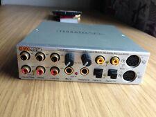 Terratec DMX 6fire PCI Sound card with 24/96 Control Box