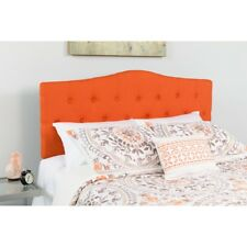 Flash Furniture Cambridge Full Fabric Panel Headboard In Orange
