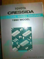 1991 Toyota Cressida Genuine OEM Repair Manual and ...