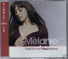 MELANIE C - THE MOMENT YOU BELIEVE 2007 SWISS CD SINGLE 313 MUSIC SPICE GIRLS