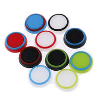 4 pcs Silicone Thumb Stick Grips Cover for PlayStation 4 Xbox Thumbstick Caps BD