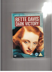 DARK VICTORY-(DVD)-NEW-BETTE DAVIS, GEORGE BRENT & HUMPHREY BOGART