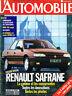magazine automobile: L'automobile N°549 mars 1992