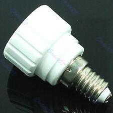 E14 to GU 10 Bulb Base Converter Light Socket Adaptor Extender Lamp Holder