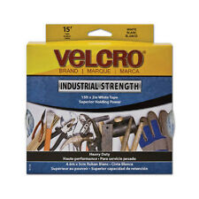 Velcro Industrial Strength Hook and Loop Tape White 90198