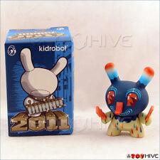 Kidrobot Dunny 2011 series Lightning Bolt figure by Travis Lampe original box