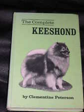 More details for rare keeshond keeshonden dog book 1st 1971 by peterson
