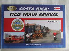COSTA RICA: TICO TRAIN REVIVAL TRAIN VIDEO DVD-R