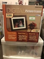 Smart Features - Digital Picture Frame- 8.4 Inch Display- 4000 Pictures
