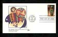 US FDC #2426 Gill Craft GillCraft Cachet Pre-Columbian Customs 1989