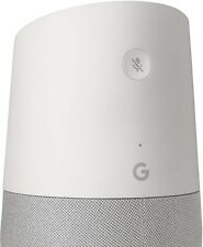 IN STOCK! Google Home White/Slate fabric Google Personal Assistant - Sealed Pack