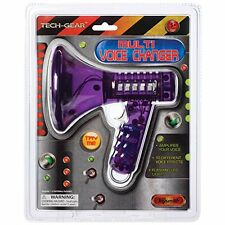 New Tech Gear Novelty & Gag Toys Multi Voice Changer (6.5-Inch Various Colors)