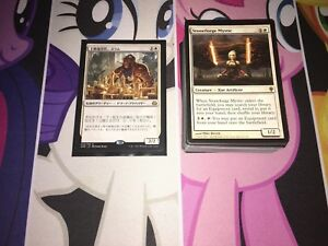 Mtg Full EDH Deck - *Sram, Senior Edificer Voltron* - Lots of Rare/Mythic!!!
