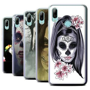 STUFF4 Gel/TPU Phone Case for Huawei P Smart 2019 /Day Of The Dead Festival