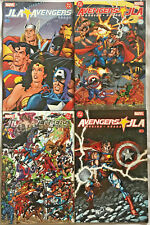 JLA VS AVENGERS#1-4 NM 2004 FULL RUN DC/MARVEL COMICS