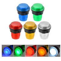 10pcs 12V Illuminated Arcade Video Game Push Button Switch LED Light Lamp AC893