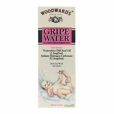 Woodwards Alcohol Sugar Free Gripe Water for Wind Colic Relief 1x150ml
