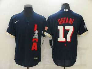 Shohei Ohtani 17 2021  All-Star Game Navy Jersey
