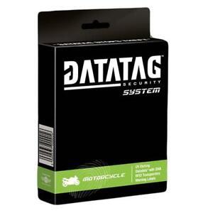 Datatag Motorcycle Motorbike Heavy Duty Anti theft Security Safety Kit Thatcham