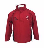 Ulster Rugby Jacket Red 1/4 Zip Ireland Irish Kukri Large Men's Training