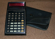 Calcolatrice programmabile Texas instruments TI-57 + Custodia, vintage
