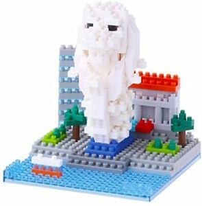 Kawada Nanoblock Merlion Building Kit 260pcs