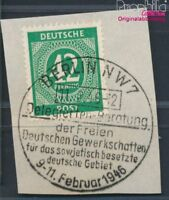 Alliierte Bes.-Gem.Ausg. 930 geprüft gestempelt 1946 (8940448