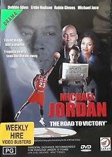 Michael Jordan - The Road To Victory (DVD, 1999) - Region 4 - RARE