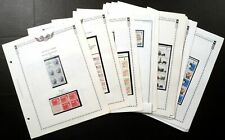 US Collection of 63 Mint BOOKLET PANES Postage CV$442 FACE VALUE $164.73