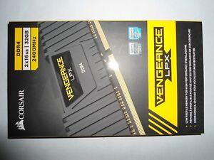 CORSAIR Vengeance LPX 32GB (2x16GB) 2400 DDR4 PC4-19200 ✔C14✔ CMK32GX4M2A2400C14