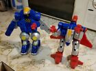 ToyBiz The Bots Master JUNGLE FIVER Combiner Lot Of 2 As Is For Sale