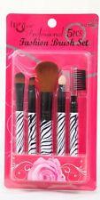 NUOVO 5pcs Set Professionale Cosmetici Make-up Brush Foundation PETTINE Lip Brush