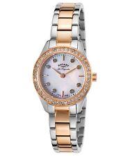 Rotary Women's Two tone Stainless Steel bracelet Swiss Quartz Watch LB90013/41