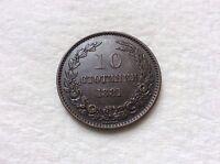 1881 10 Stotinki  Bulgaria, Alexander I,  In Great Shape! RARE! MUST SEE