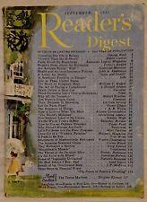 September 1952 Reader's Digest!!!
