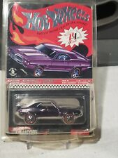 HOT WHEELS RED LINE CLUB SELECTIONS 69 PONTIAC FIREBIRD 3/4 SPECTRAFLAME PURPLE