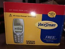 NOKIA 3390  NOS STILL SEALED phone mobile New AOL PCS PHONE KIT