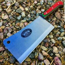 """13"""" MEAT CLEAVER CHEF BUTCHER KNIFE Stainless Steel Chopper Full Tang Kitchen"""