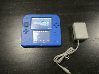 Nintendo 2DS Video Game System Portable Console Blue Black