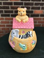 """Noah's"" Ark Cookie Jar Collectable Ark Design Storage Container"