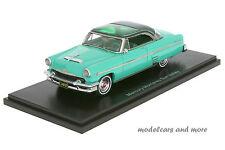 Mercury Monterey sun valley-turquoise/vert foncé-année 1954 1:43 Neo 44057