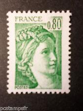 FRANCE - yvert 1970c gomme trop. sans phosphore, neuf**
