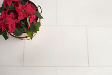 ANTALYA WHITE HONED LIMESTONE FLOOR WALL TILE TILES 406x406x10mm £27.99 PER SQM