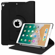 "Rotating Stand Protective Cover Case Sleep / Wake for Apple iPad Pro 10.5"" Black"