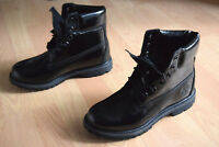 Timberland 6-Inch Premium Boot 38 39 40 Waterproof Boots Lackleder Womens A17R8