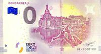 BILLET 0  EURO CONCARNEAU  FRANCE  2018  NUMERO 100