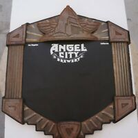 Angel City brewery Chalk Beer Sign Vintage retro
