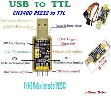 USB To RS232 TTL CH340G Converter Module Upg 5v 3.3v Serial Port Module PL2303