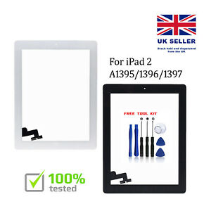 For iPad 2 A1395 A1396 A1397 Touch Screen Black White Digitizer Replacement IC