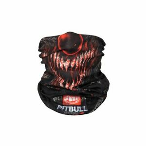 Pitbull West Coast bandana terror clown